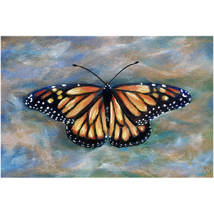 Monarch Butterfly Canvas Fine Art Print