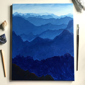 Blue Mountains Painting Class February 15th