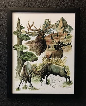 Wapiti Spirit by Maria Friedrich