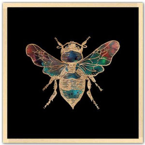 Galactic Honey Bee Fine Art Print by Aimee Schreiber