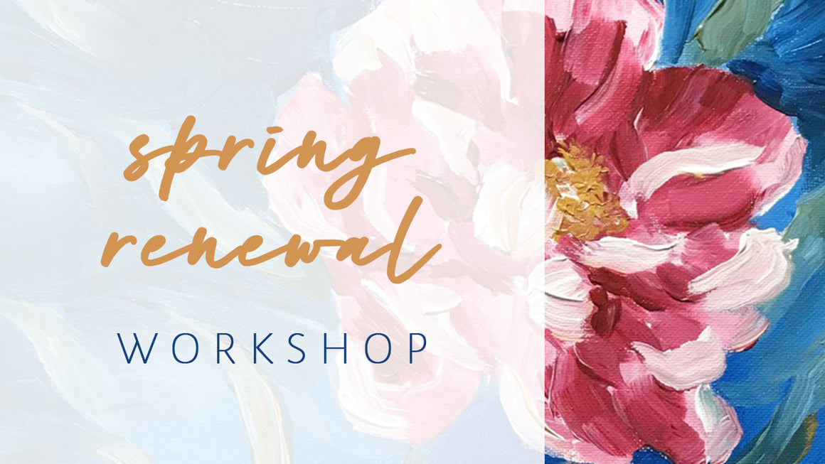Spring Renewal Yoga & Painting Online Workshop
