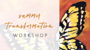 Summer Transformation Yoga & Painting Online Workshop