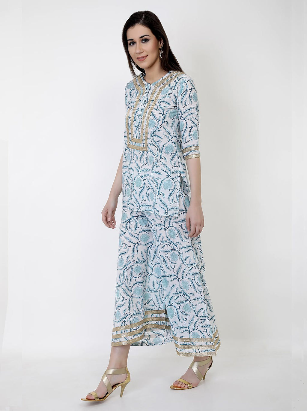 Sky High Kurti Set