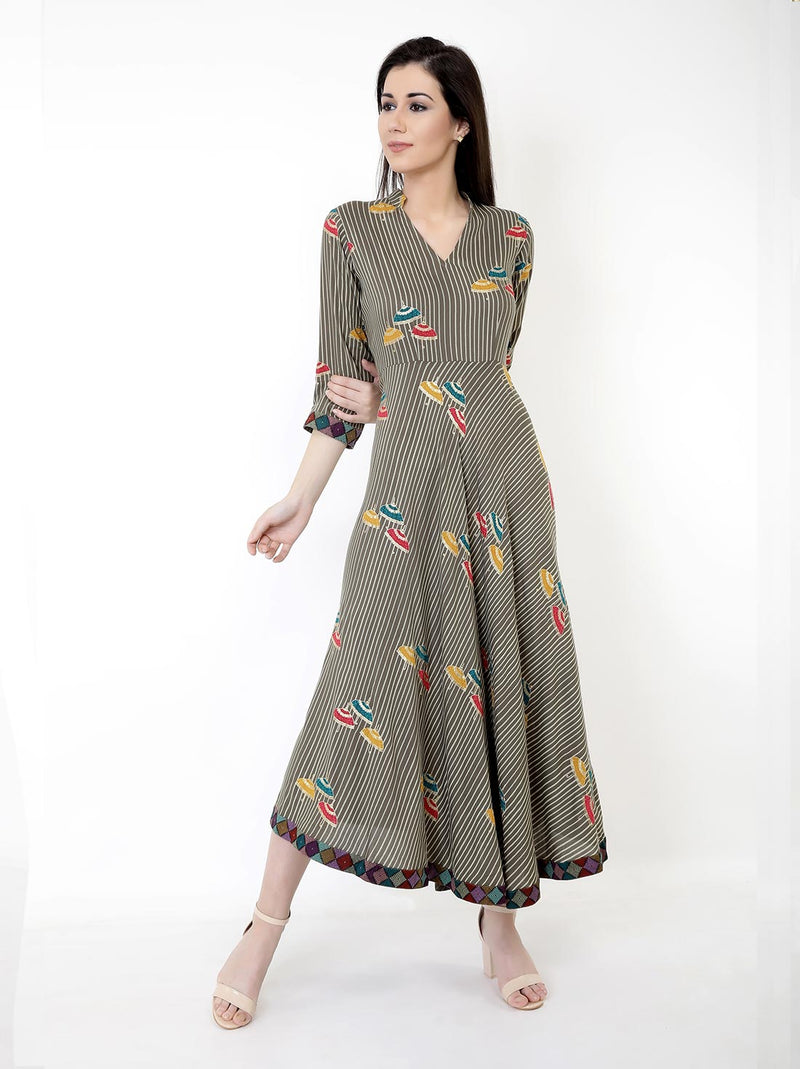 Umbrella Midi Dress