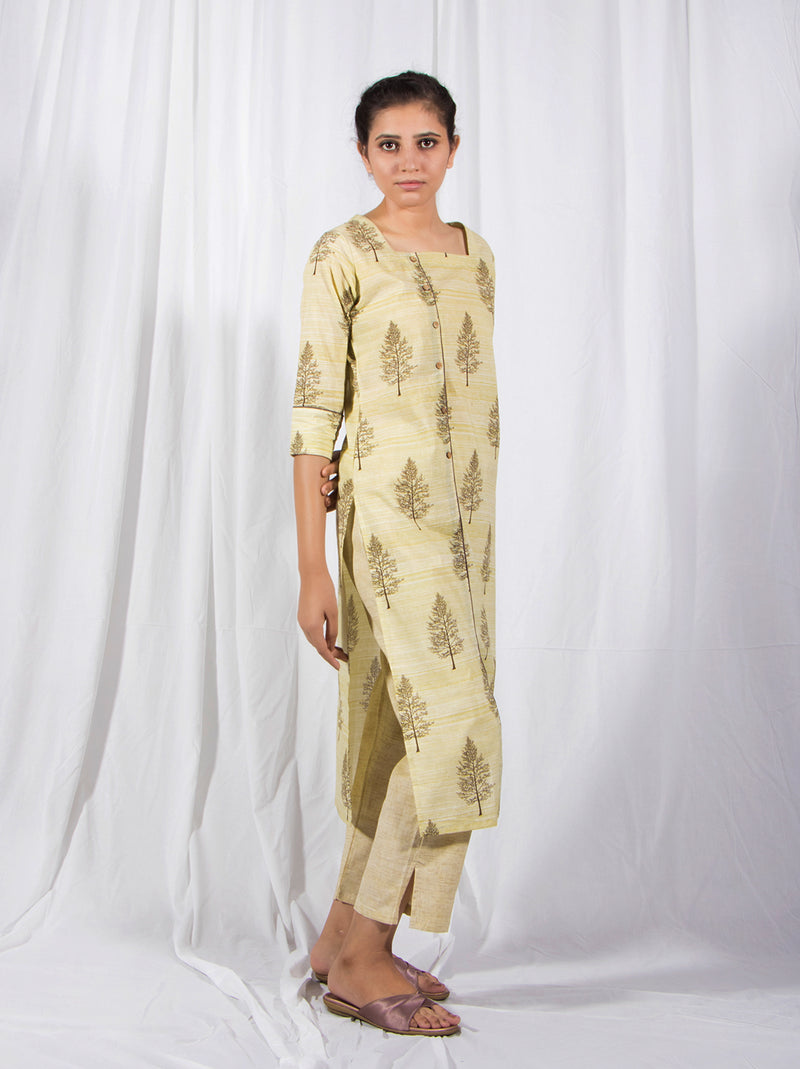 Butterscotch Kurti Set