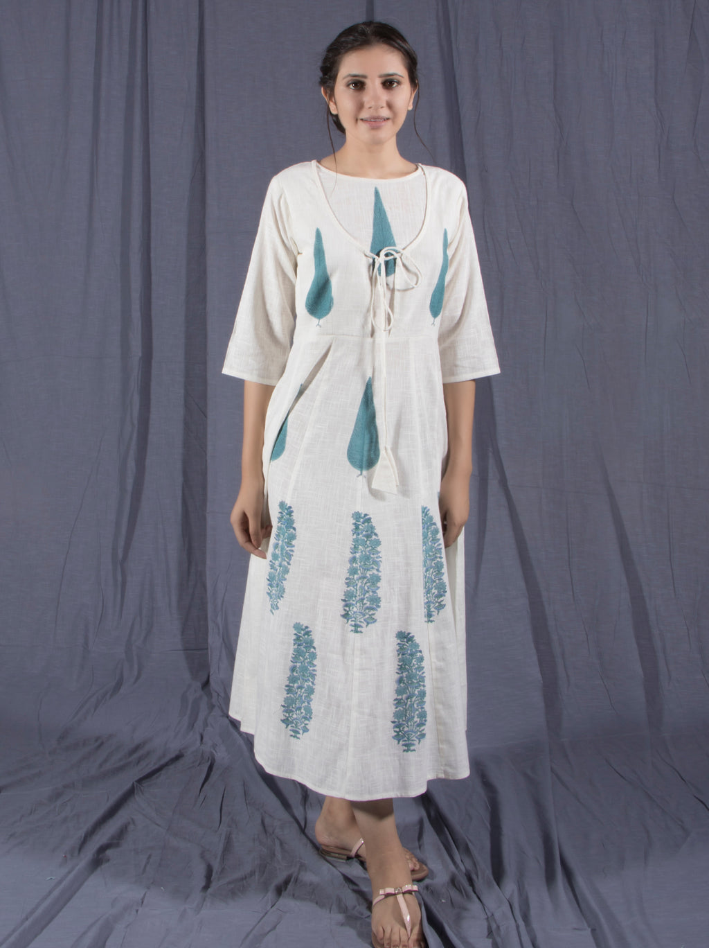 Cotton Cloud Midi Dress