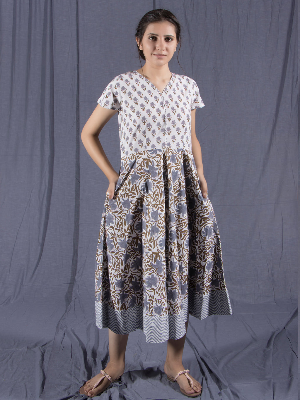 Hay Block Printed Kurti and Dress