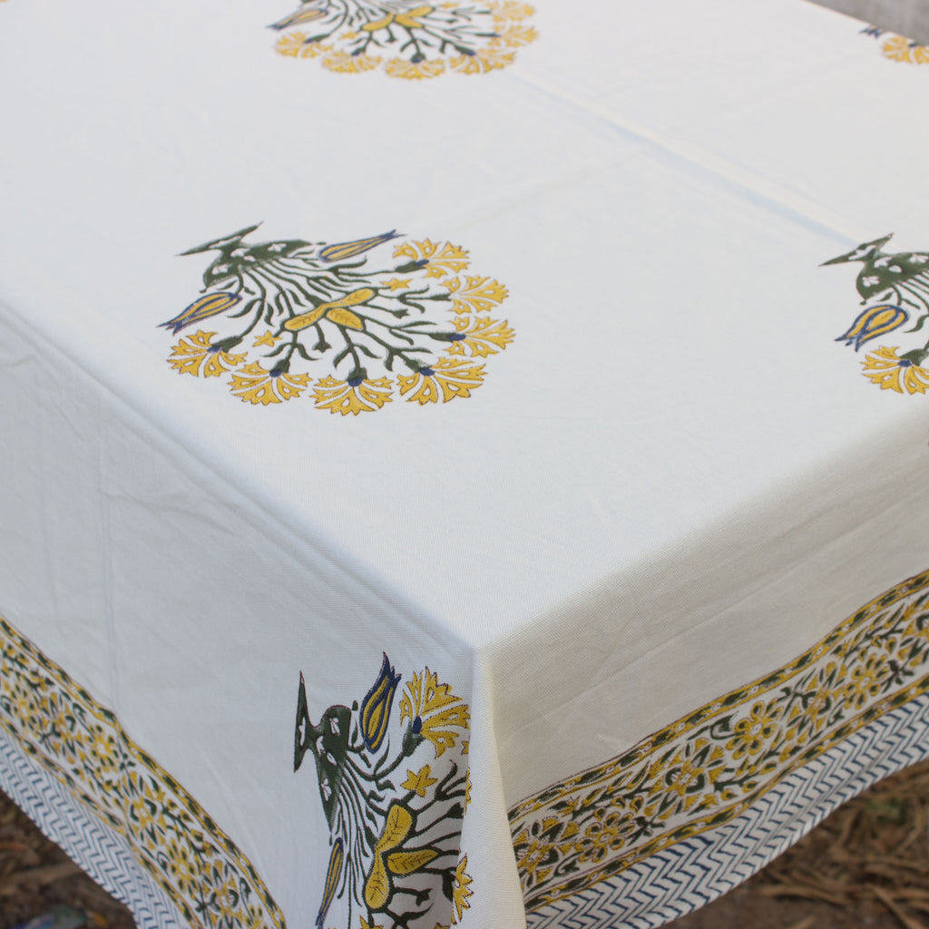 Asmat Buteh Canvas Table Cloth