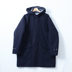 SUPER HIGH COUNT N/C HOODED COAT