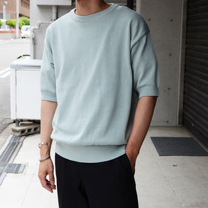 ALL TIME KNIT SS CREW