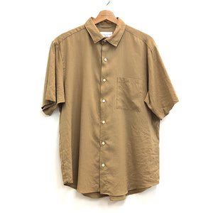 LINEN LOOSE FIT RC SHT