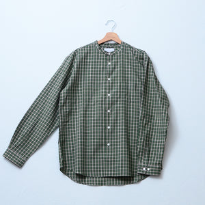 CT LOOSE FIT BAND COLLAR CHECK SHT