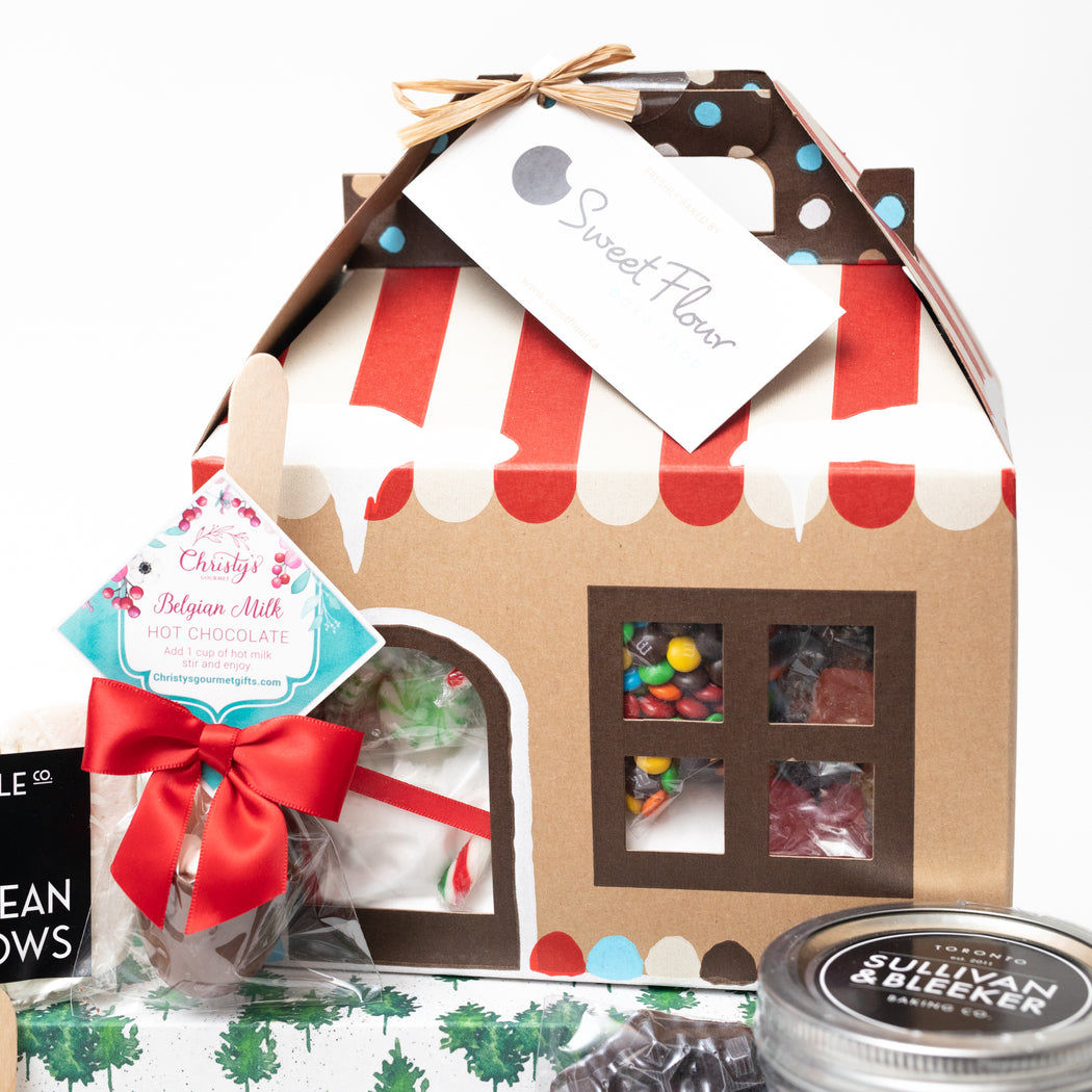 Sweet Flour Gingerbread House Kit