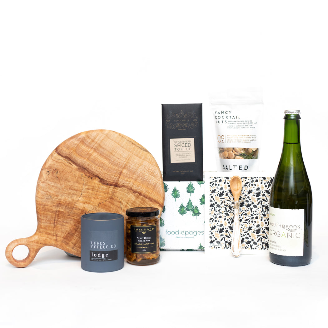 Abode Gift Box with Maple Serving Board
