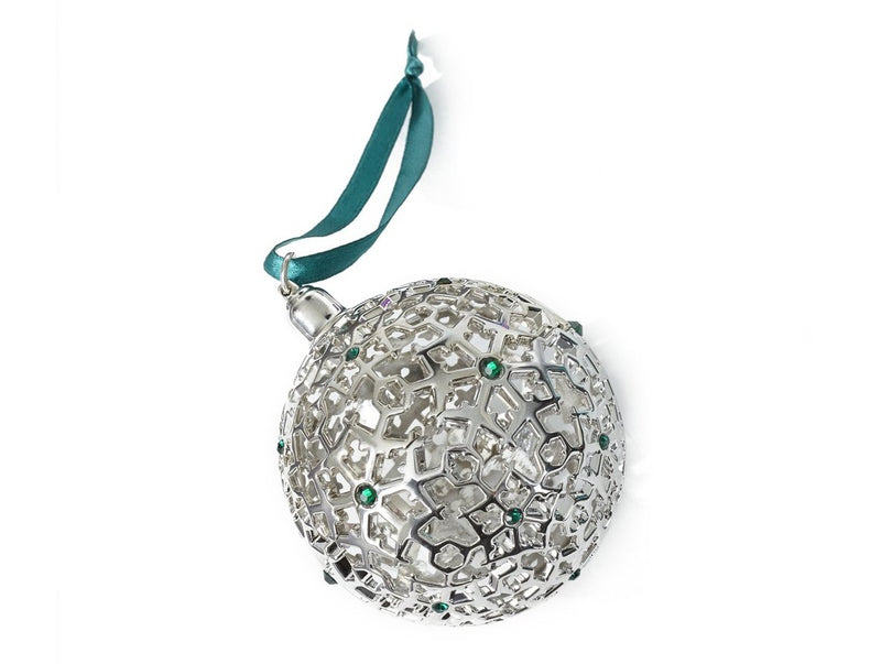 2018 Boeing Jet Snowflake Ball Ornament