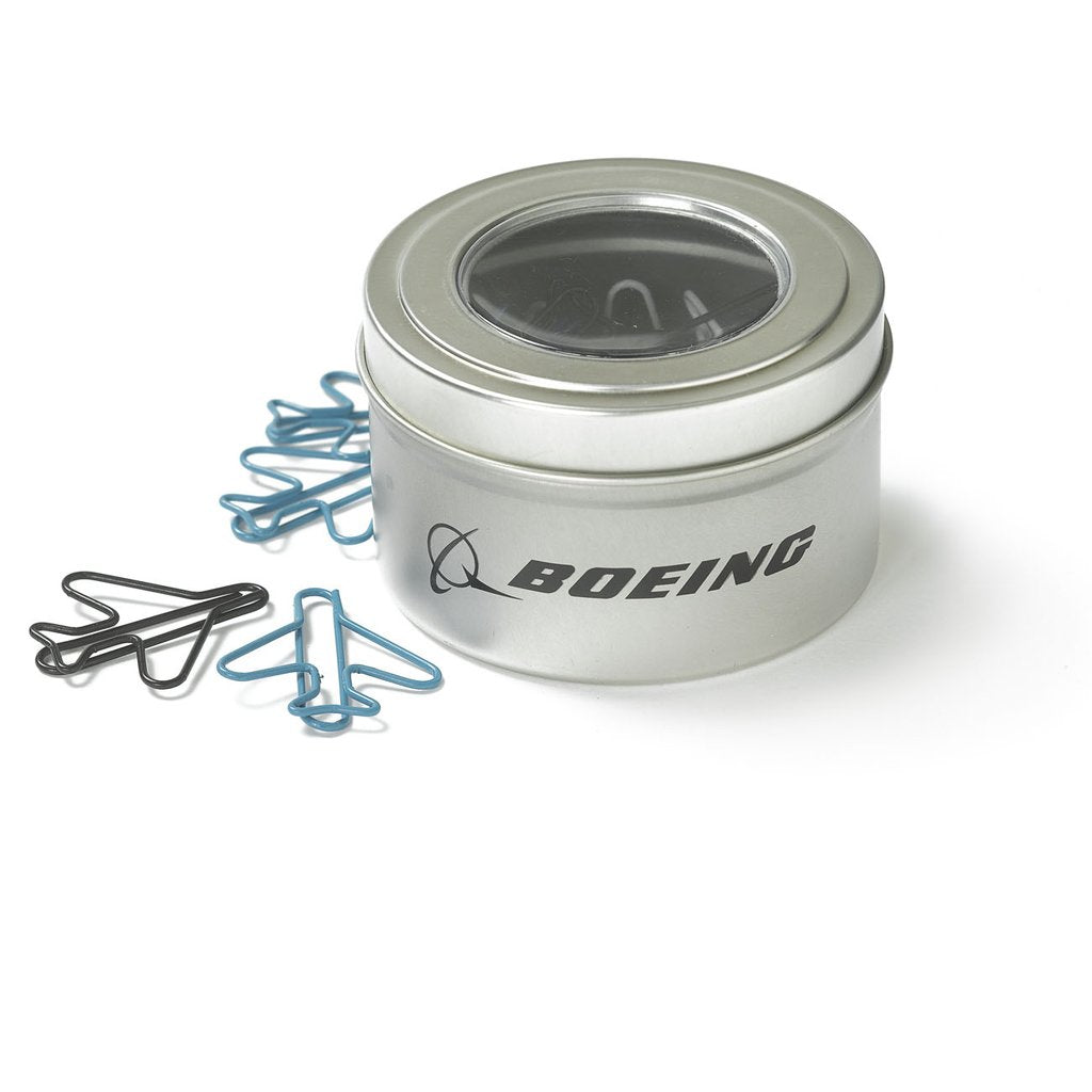 Boeing Airplane Shaped Paperclips