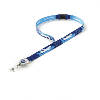 BCA Boeing Shadow Graphic Lanyard