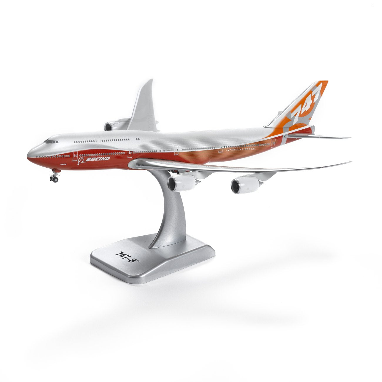 Boeing 747-8 1:400 Sunrise Livery Die-Cast Model