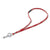 Boeing Red Retractable Lanyard