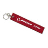 Boeing Remove Before Flight Keychain