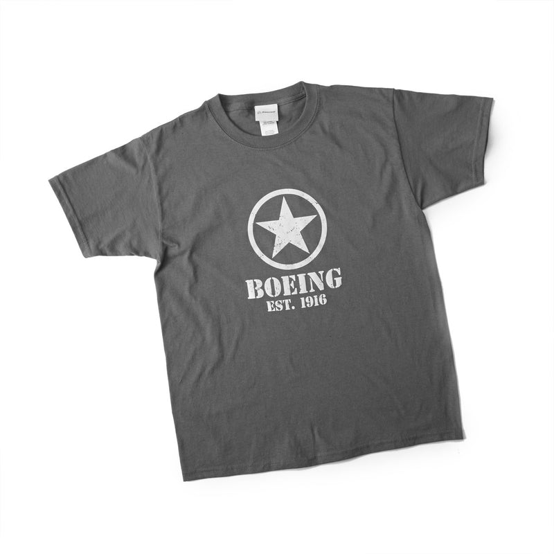 Boeing Stencil Star T-Shirt - Youth