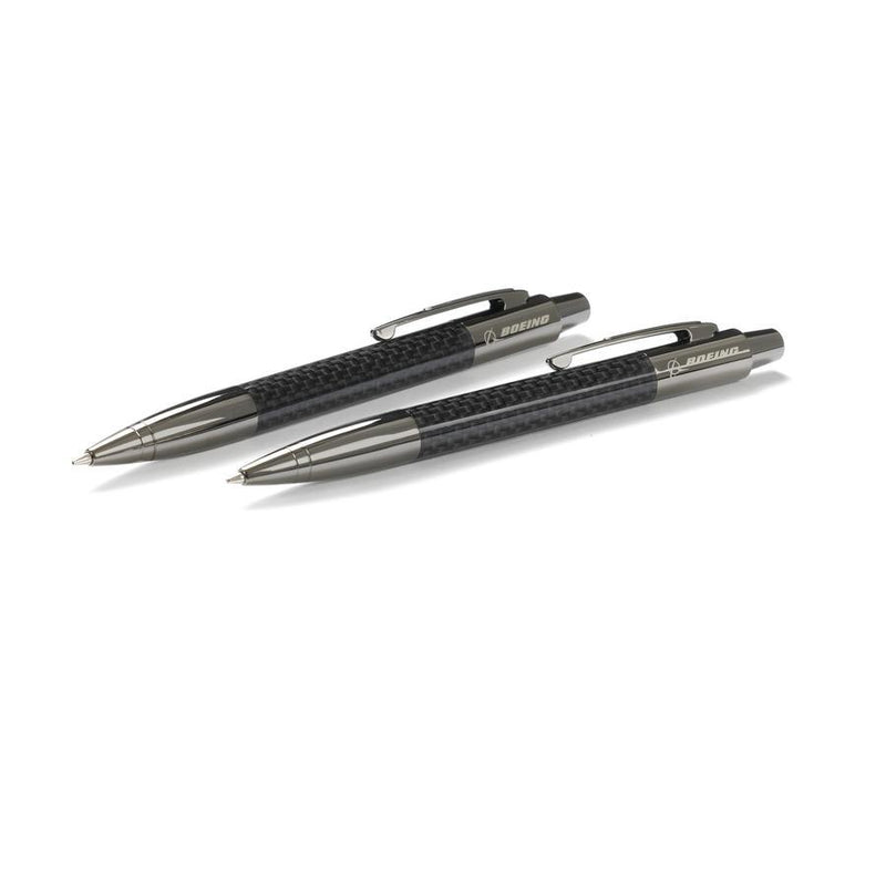 Boeing Carbon Fiber Pen/Pencil Set