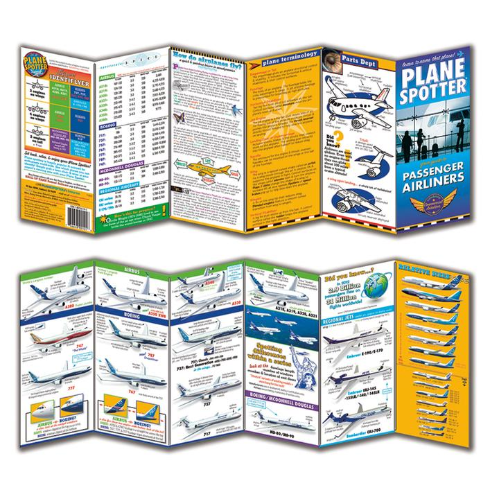 Commercial Plane Spotter Cards Book