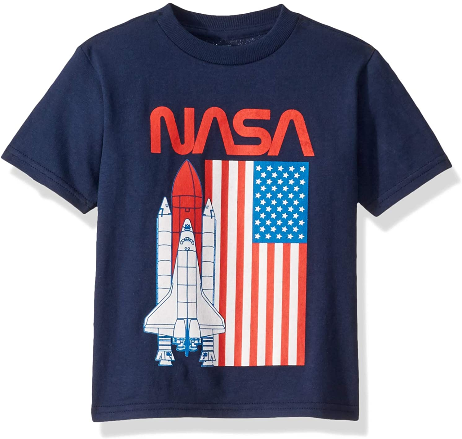 Freeze NASA Space Shuttle USA Flag Toddler T-Shirt