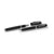 Matte Black Roller Pen and Mechanical Pencil Set