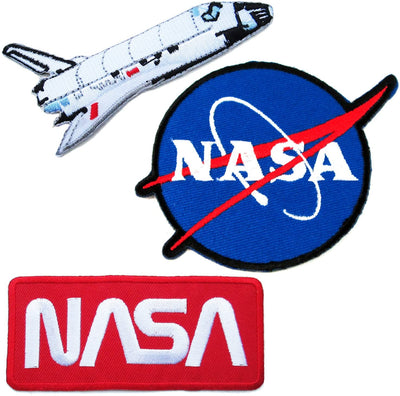 Manrojoytion NASA Patches (3 pieces)
