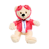 Large Boeing Aviator Bear - Pink