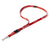 Retro Rosie Lanyard (Red)