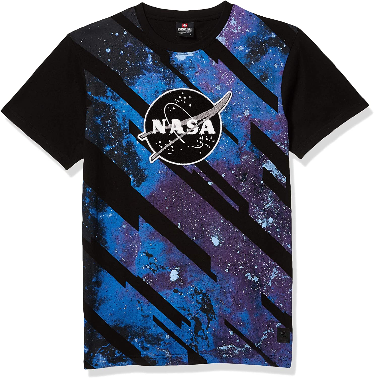 Southpole NASA Black Meatball Universe T-Shirt