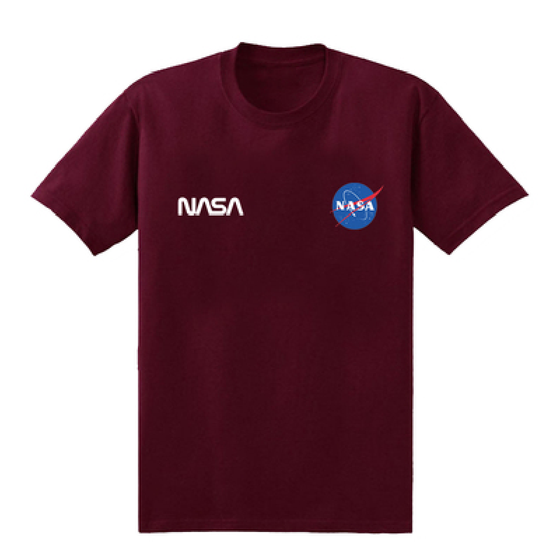 NASA T-Shirt Chest Print