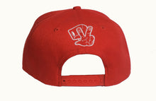 Load image into Gallery viewer, Red Script Snapback