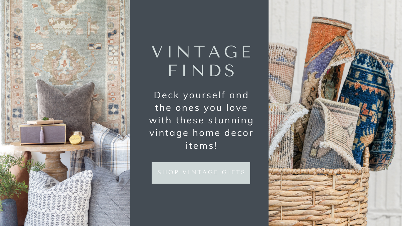 vintage gift ideas for the holidays