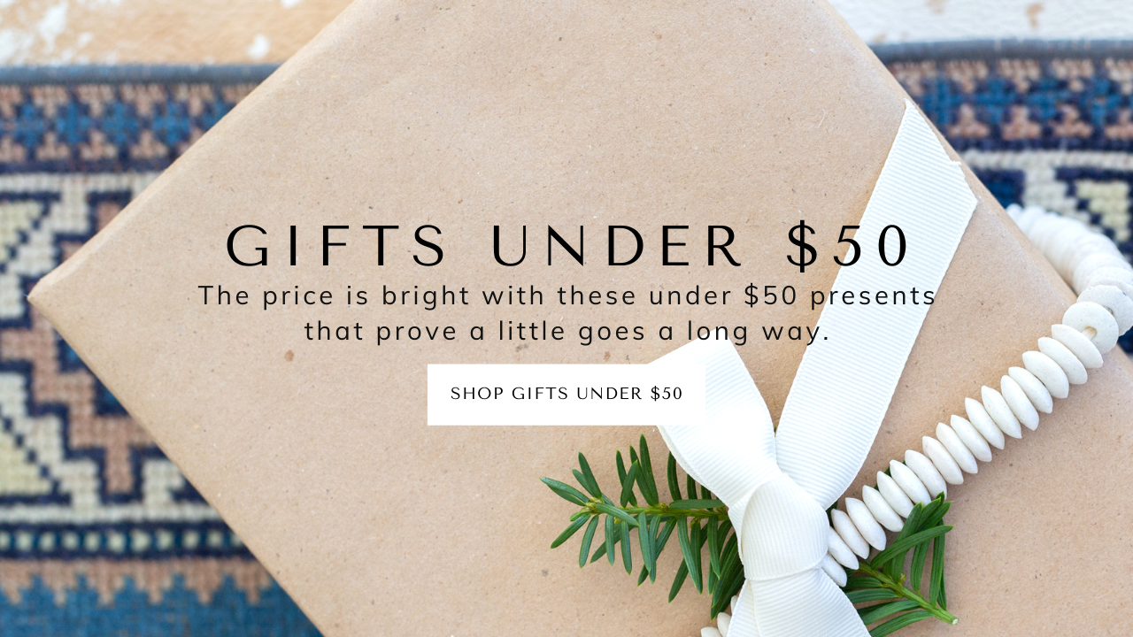 gifts under $50 gift ideas for the holidays gifts for the home