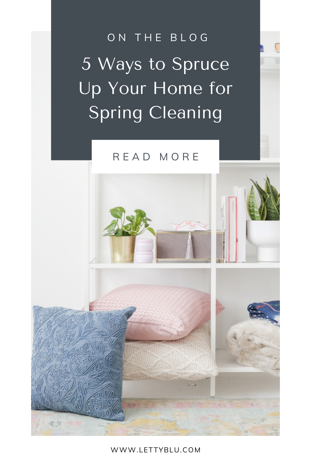 5 ways to spruce up your home for spring cleaning