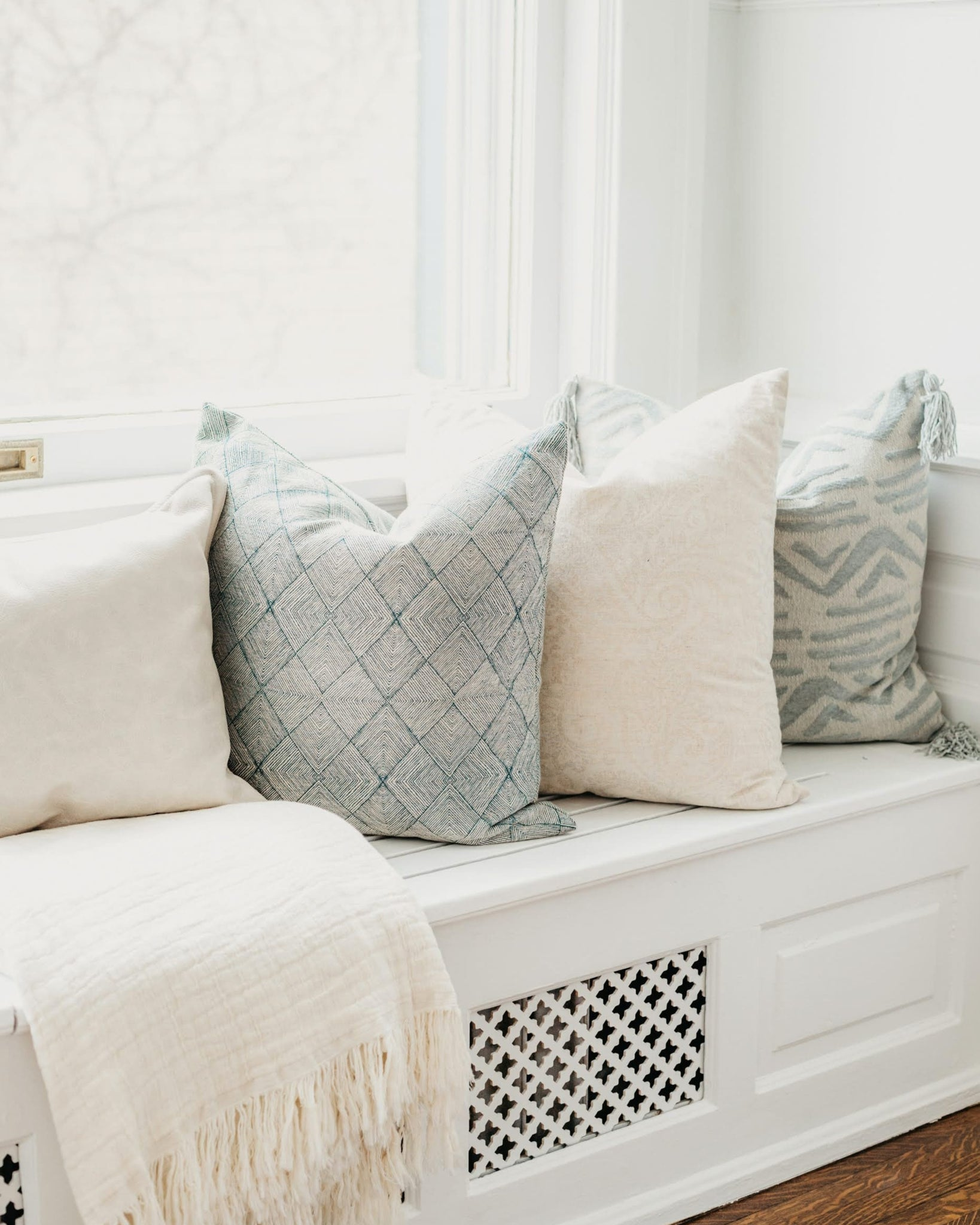 Decorative Throw Pillow Sizing Guide
