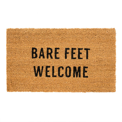 Bare Feet Welcome Doormat - Letty Blu