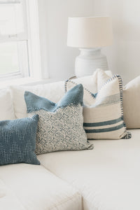 Natalie Pillow Cover - Letty Blu