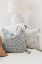 Load image into Gallery viewer, Michelle Pillow Cover - Letty Blu