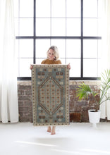 Load image into Gallery viewer, Marina Vintage Rug - Letty Blu