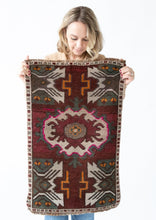 Load image into Gallery viewer, Ruby Vintage Rug - Letty Blu