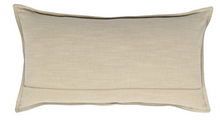 Load image into Gallery viewer, Harrison Chestnut Leather Lumbar Pillow - Letty Blu