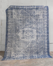 Load image into Gallery viewer, Caspian Vintage Rug - Letty Blu