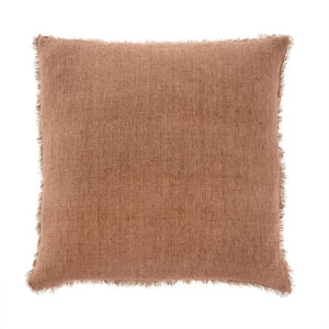 Lina Linen Pillow, Rooibos - Letty Blu