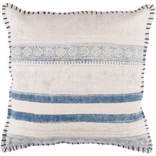 Load image into Gallery viewer, Natalie Pillow Cover - Letty Blu
