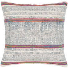 Load image into Gallery viewer, Riviera Pillow Cover - Letty Blu