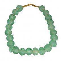 Handmade Green Beads - Letty Blu